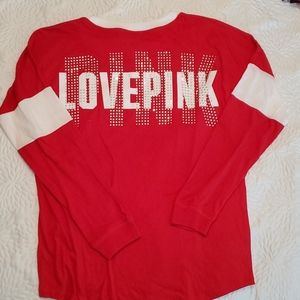 NWT PINK long sleeve t-shirt